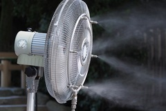Misting Fans and Outdoor Patio Cooling Systems